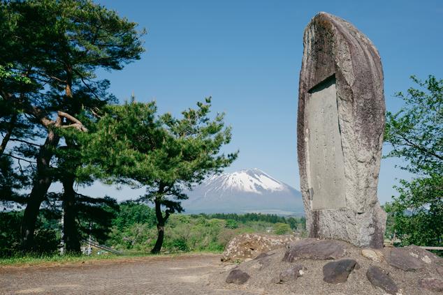 石川啄木の石碑