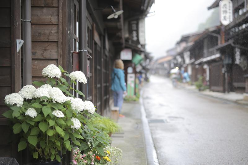 奈良井宿街並み