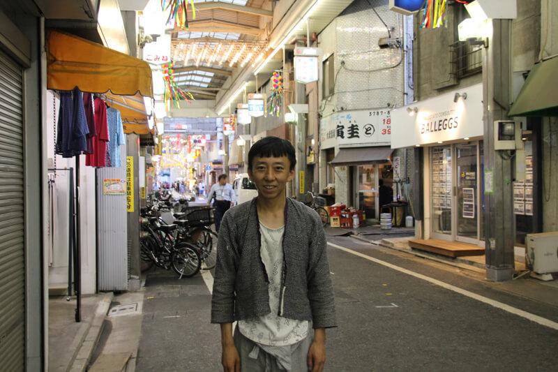 武蔵小山の商店街