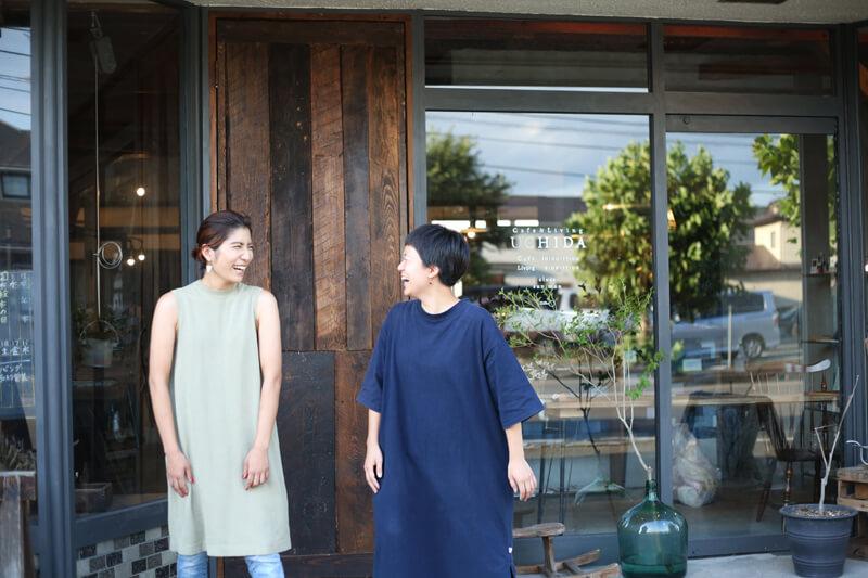 奥州市協力隊の小川ちひろさん・田名部茜さん