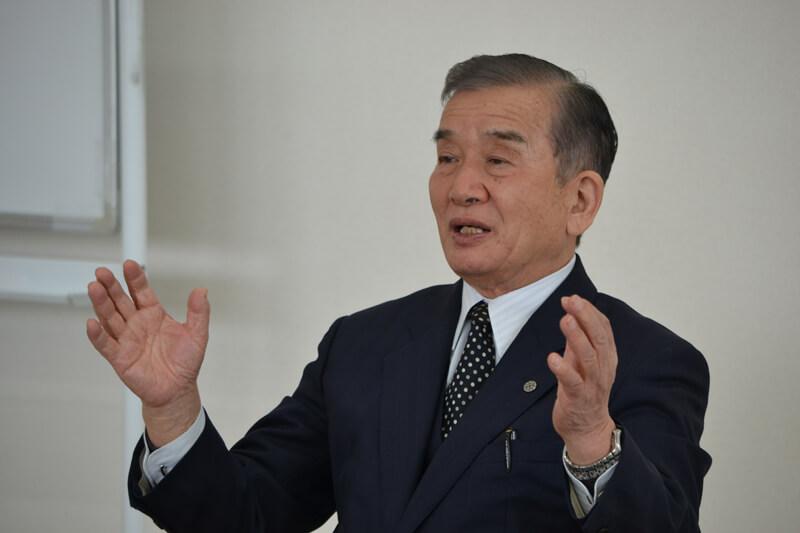 JA東とくしま農業協同組合組合長・荒井義之さん。徳島県東部にある3つの産直市を立ち上げ、軌道に乗せてきた立役者
