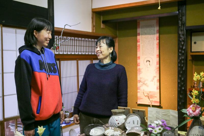遠藤愛子さんと阿南美和さん