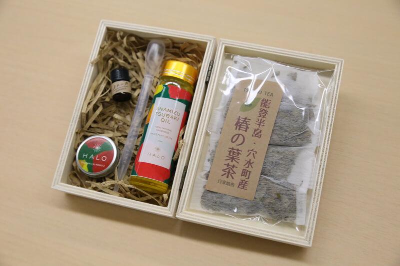 椿茶と椿油
