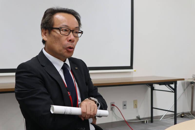 穴水町・産業振興課長の樋爪さん