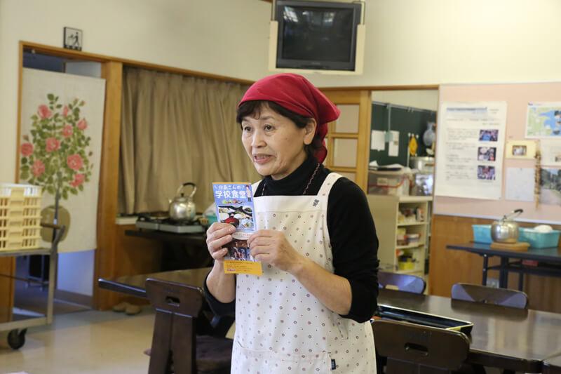 「かあさんの学校食堂」代表の泊ひろ子さん