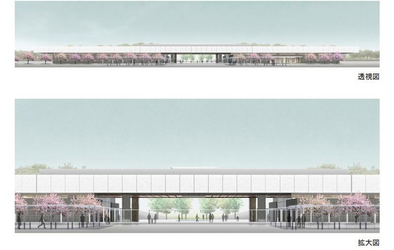 「道の駅 高田松原」のイメージ図