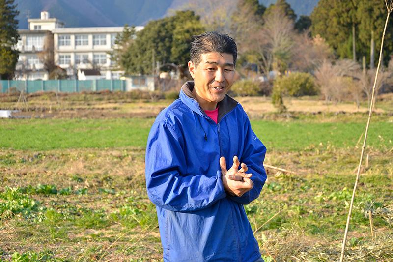 インタビューに応える田村さん
