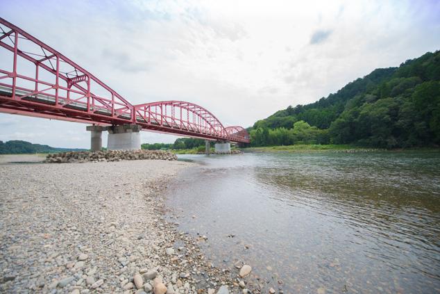 那珂川・鉄橋