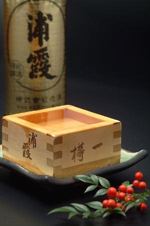 地酒「浦霞」