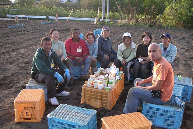 農業体験イベントの様子