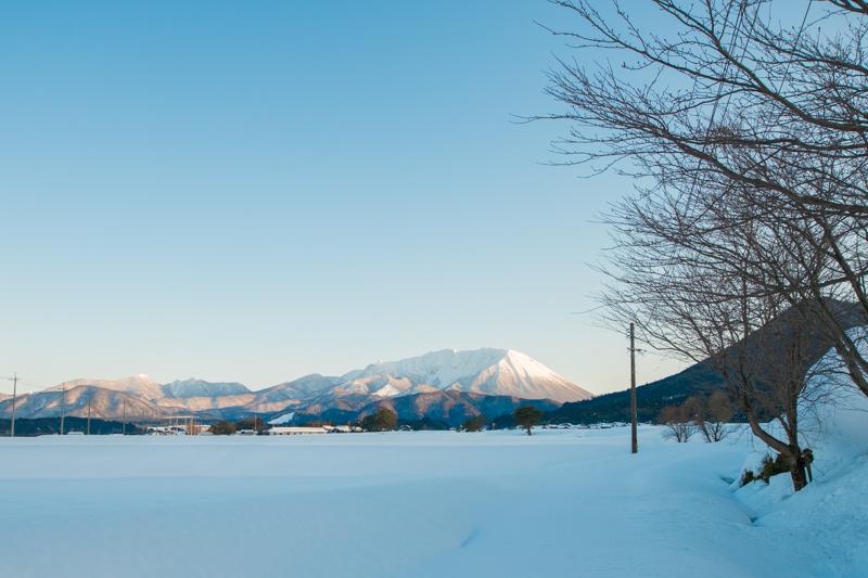 美しい景色が広がる大山町
