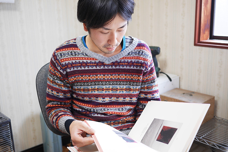 ▲普段からさまざまなジャンルの本を読むなど探究心旺盛な上田さん