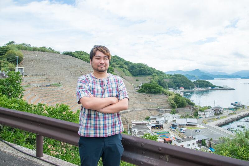 遊子地区地域おこし協力隊の鬼木陽介さん