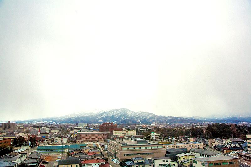 鶴岡の風景