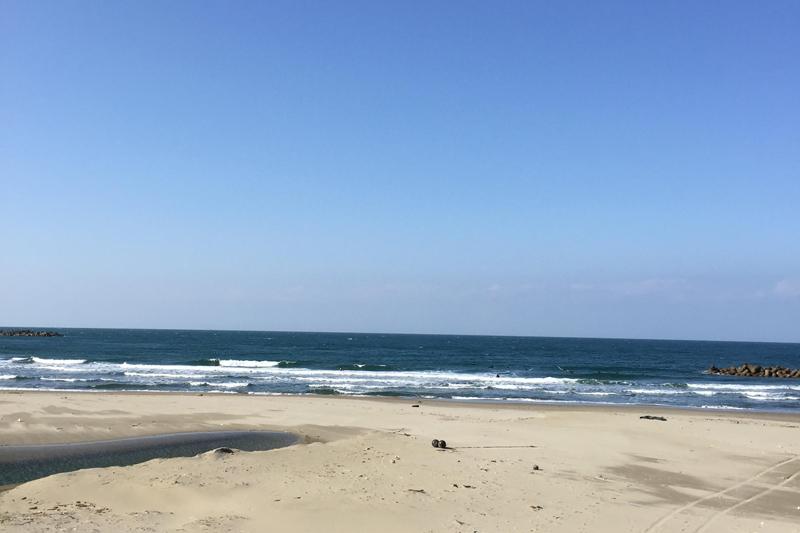 日本海の風景