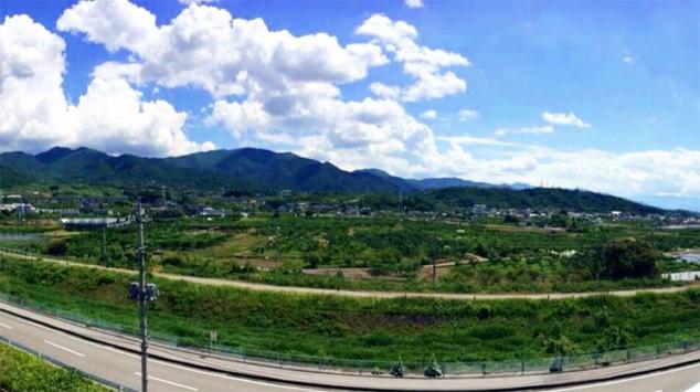 大野さんのご自宅から見える景色